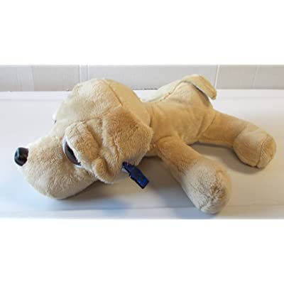 Russ Weezer Peeper Yellow Lab 10' NWT Puppy Dog Plush Applause Stuffed Animal: Toys & Games
