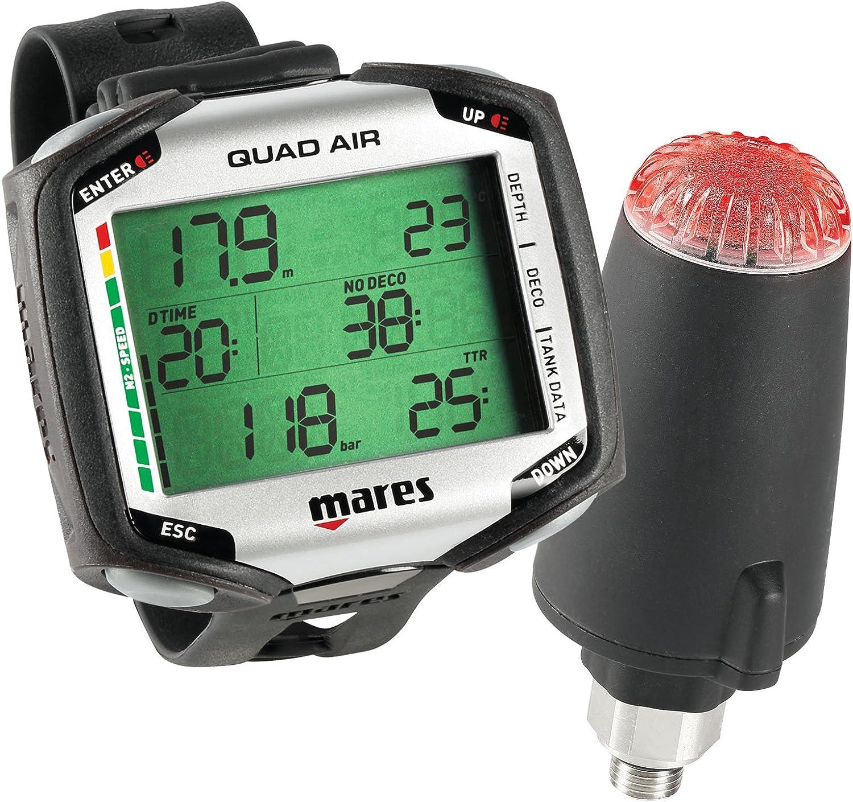 Mares Quad Air Dive Computer w/ LED TRANSMITTER