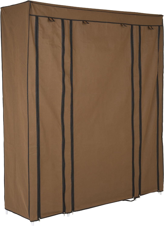 Levivo Armario portátil, Stuff, Castaño Claro, 174x147x44 cm ...