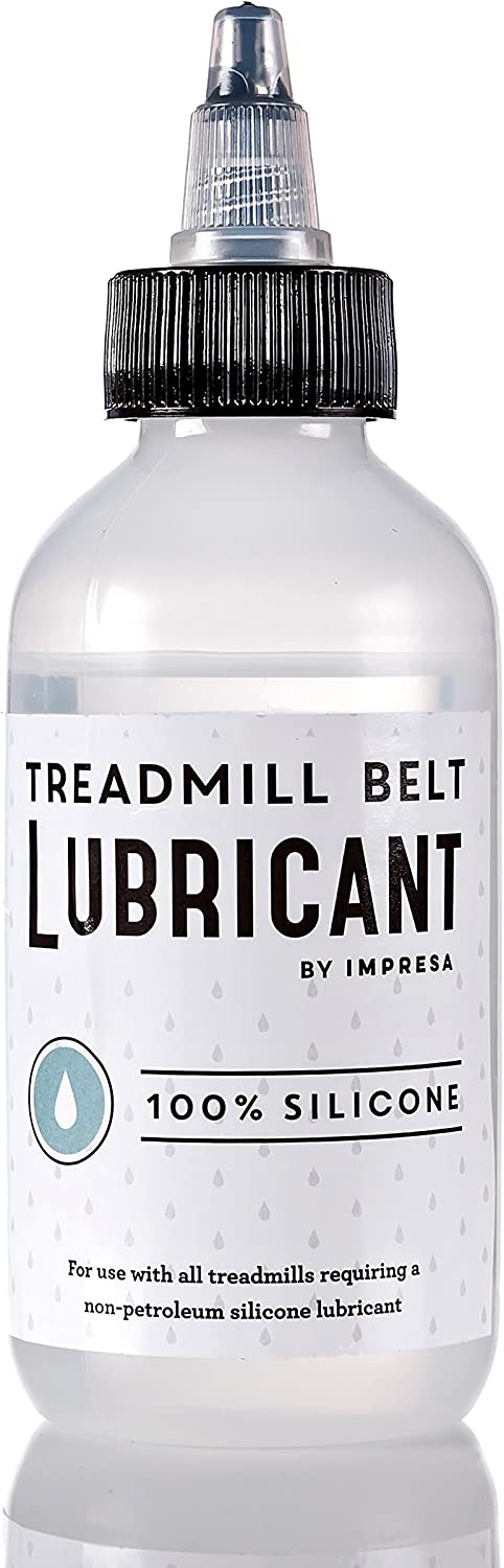 IMPRESA 100% Silicone Treadmill Lubricant/Treadmill Lube - Easy to Apply Treadmill Belt Lubrication Oil - Made in The USA Products