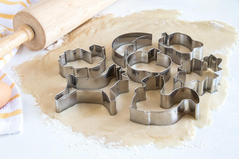 Juego de moldes recortadores para hacer galletas, de la marca Fox Run, con formas de otoño: Amazon.es: Hogar