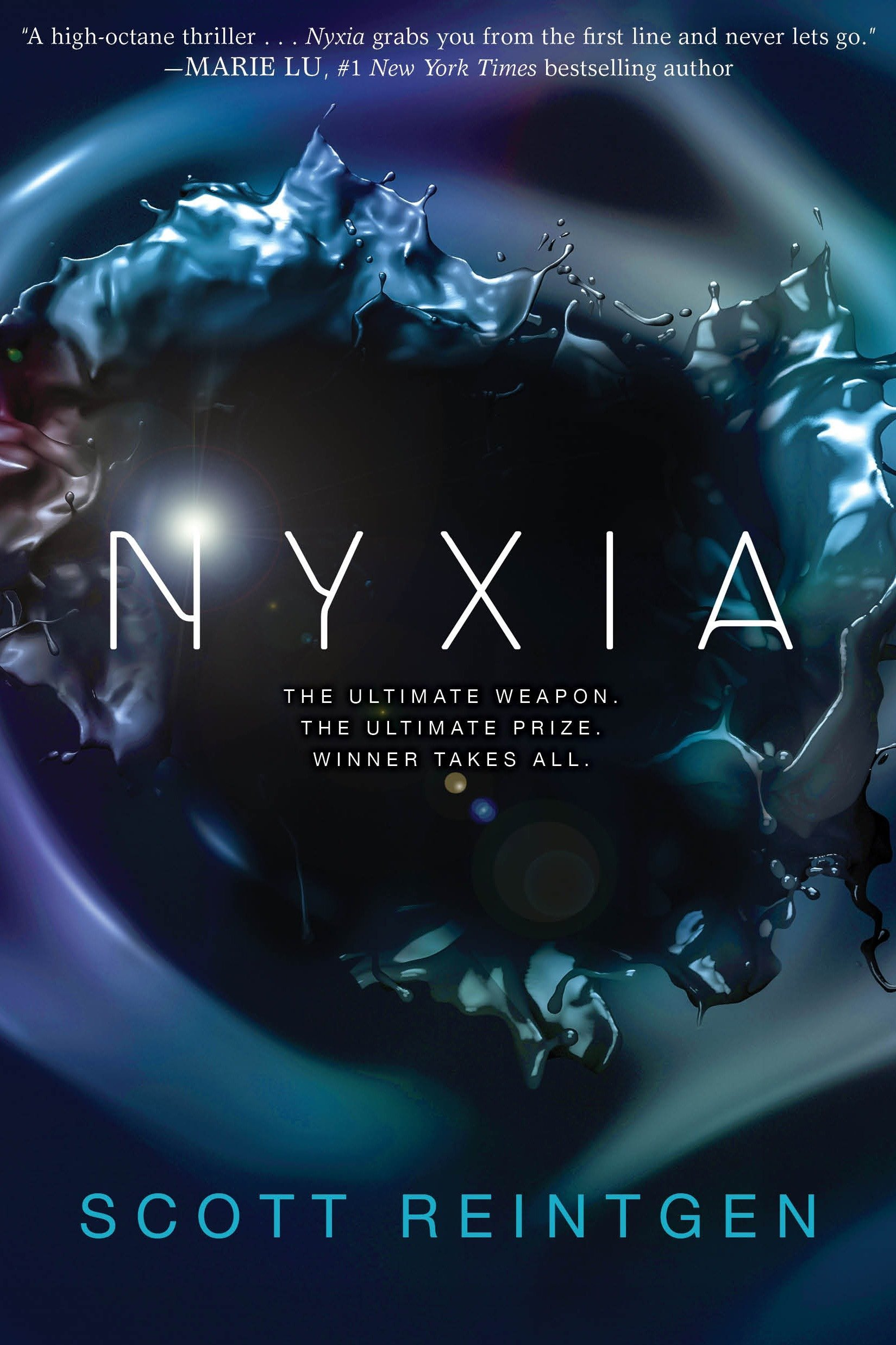 Amazon.com: Nyxia (The Nyxia Triad) (9780399556791): Reintgen ...