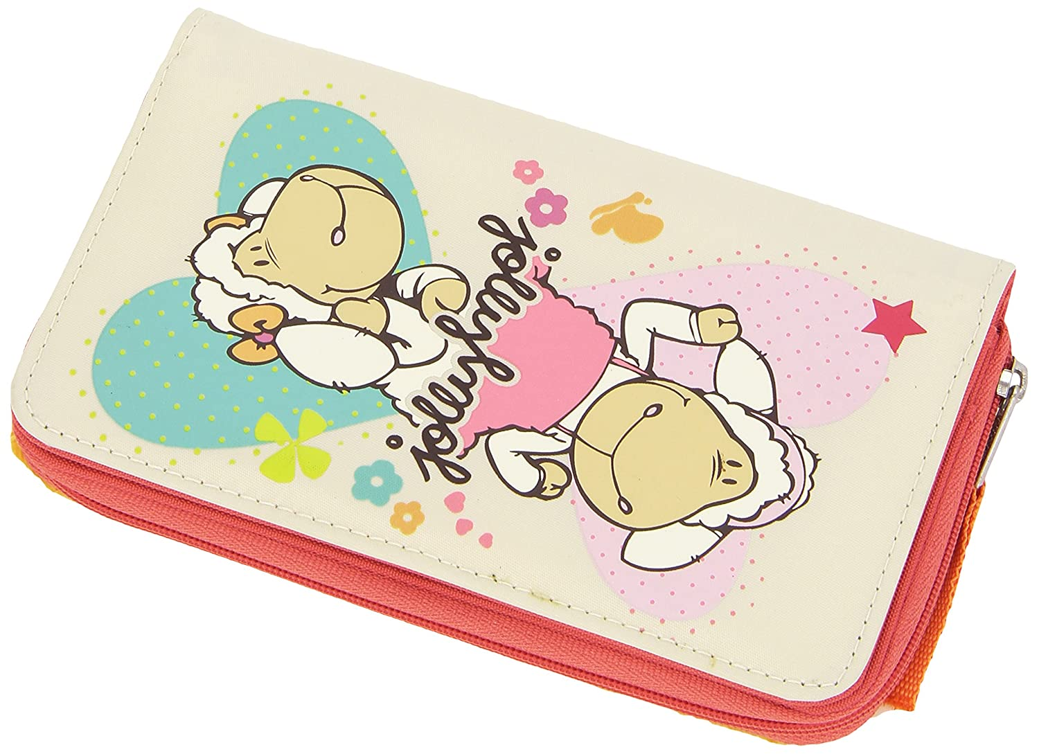 The Sales Partnership NICI Jolly Amy and Frances Sheep Wallet