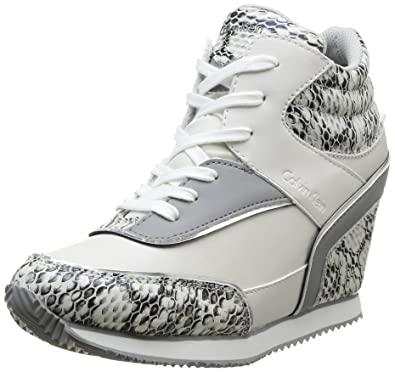 Calvin Klein Jeans Vivi, Baskets mode femme, Blanc (Dhk), 35  Amazon ... f305cca2f3df