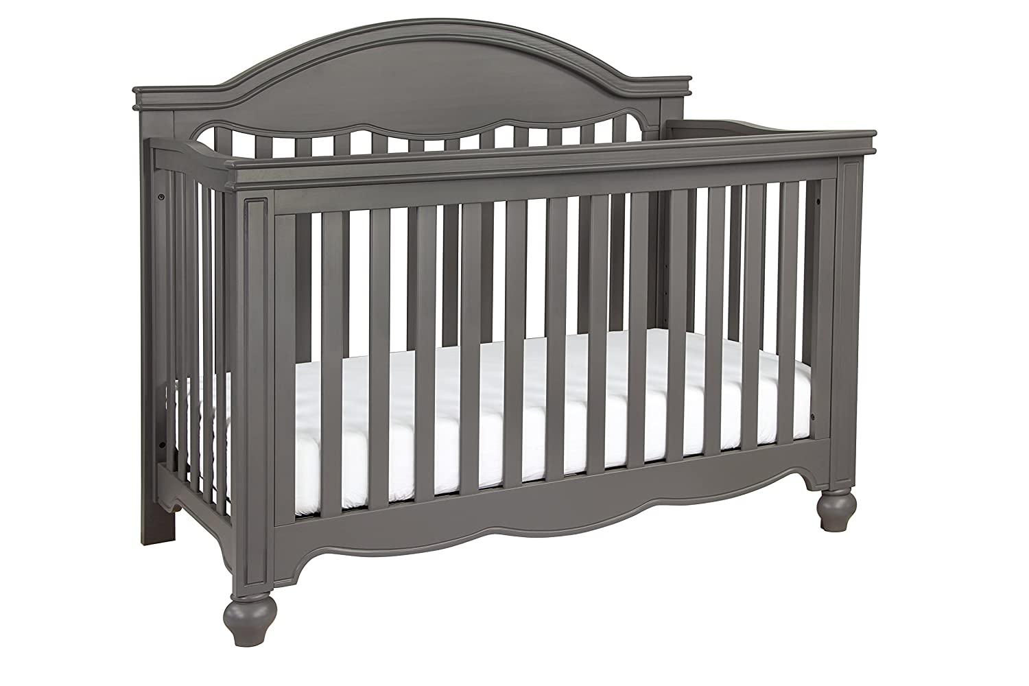 amazoncom million dollar baby classic etienne 4in1 convertible crib with toddler bed conversion kit manor grey baby