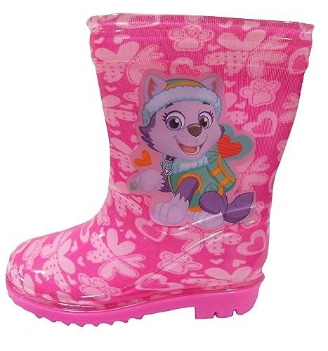 it Skye Wellington Patrol Amazon e Ragazze Boots Paw borse Rosa Scarpe 504IqWw