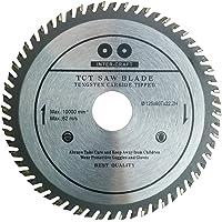 Inter-Craft 125 mm sågblad högsta kvalitet cirkelsågblad för trä (125 x 60 Tx20H )tänder