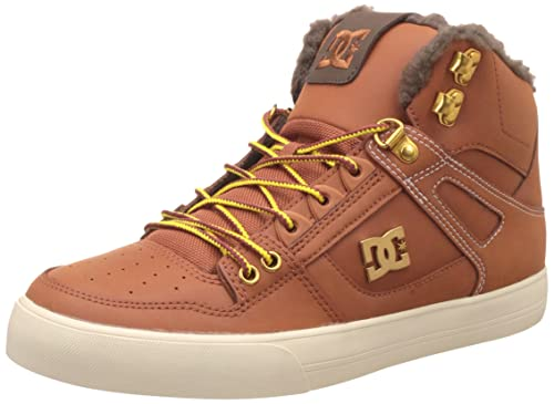 DC UniverseSpartan High WC TX Se - Scarpe da Ginnastica Basse Uomo amazon-shoes neri Sneakers alte