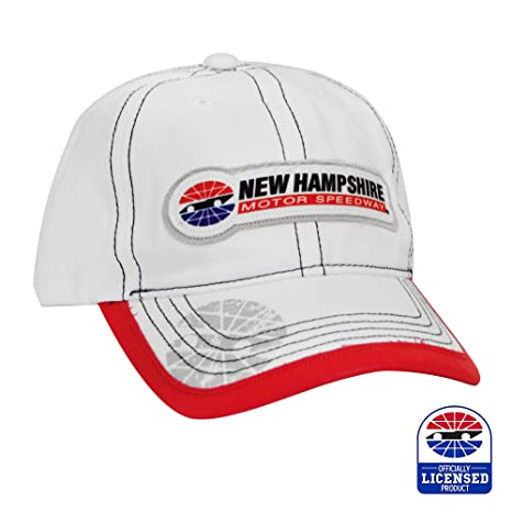 b9e24295a1d Amazon.com   New Hampshire Motor Speedway Frayed Patch Hat   Sports ...