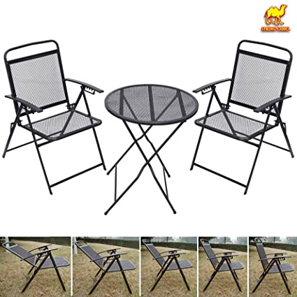 Amazon Com Strong Camel Bistro Set Patio Set Table And Chairs