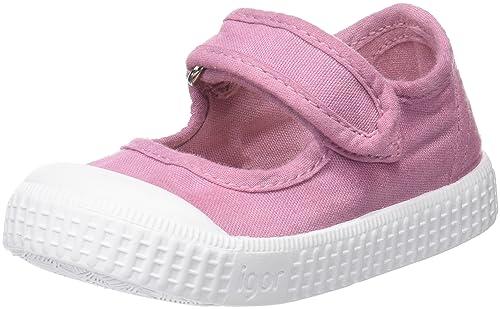 Igor Irene, Zapatillas Sin Cordones Unisex Bebé, Rosa (Pink), 29 EU