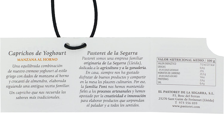 Pastoret - Caprichos de Yogur Manzana al Horno, 1 Unidad x 150 g: Amazon.es: Alimentación y bebidas