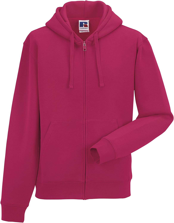 Russell Mens Authentic Full Zip Hooded Sweatshirt//Hoodie