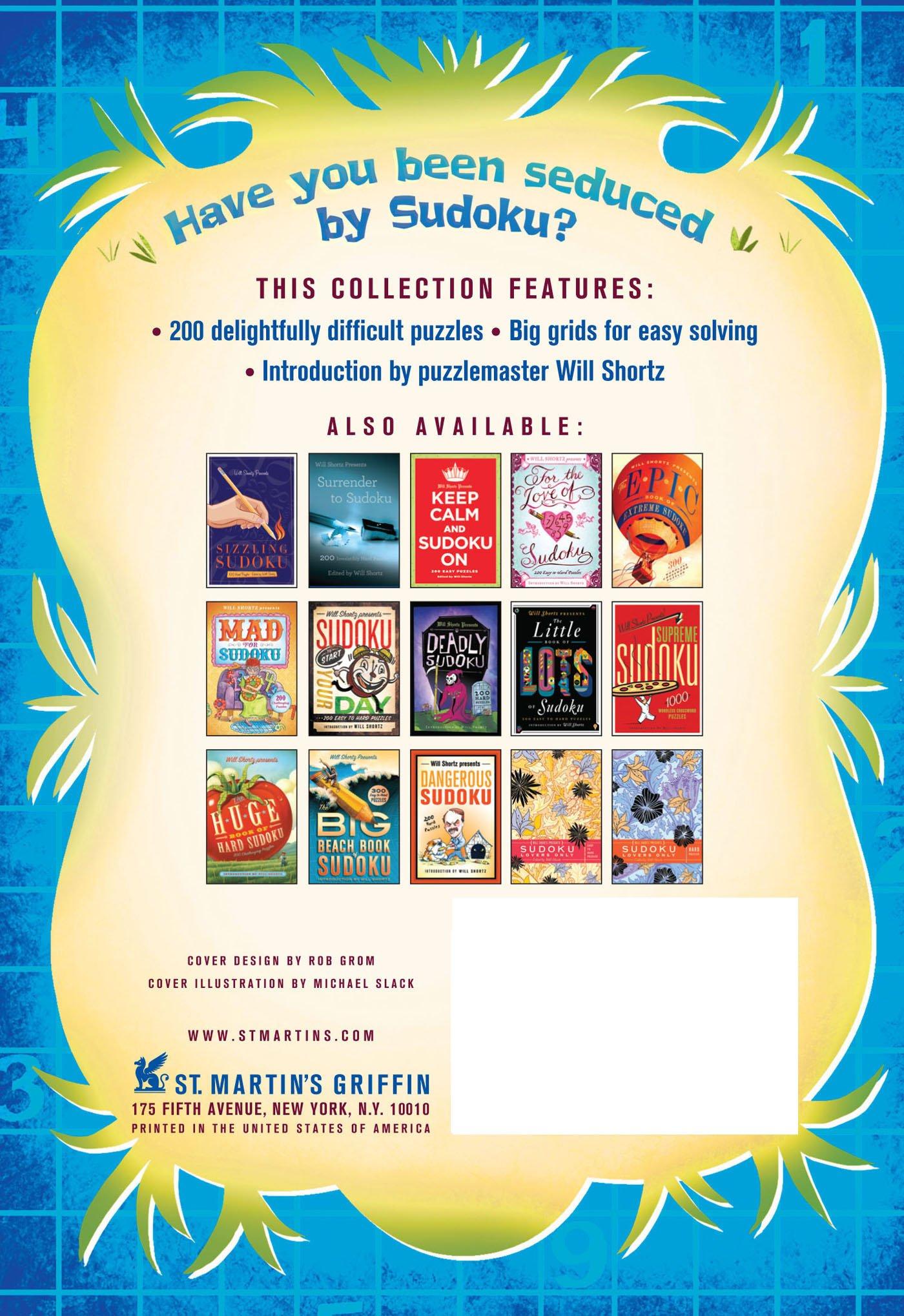 Will Shortz Presents Wild for Sudoku: 200 Challenging Puzzles: Will Shortz:  9781250032607: Amazon.com: Books