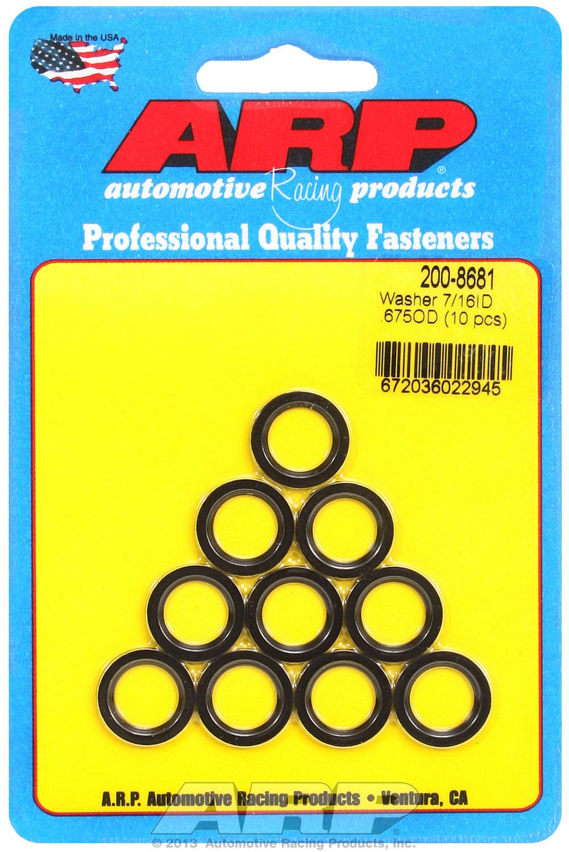 ARP 200-8681 7/16' ID x 675 OD Connecting Rod Washer - 10 Piece