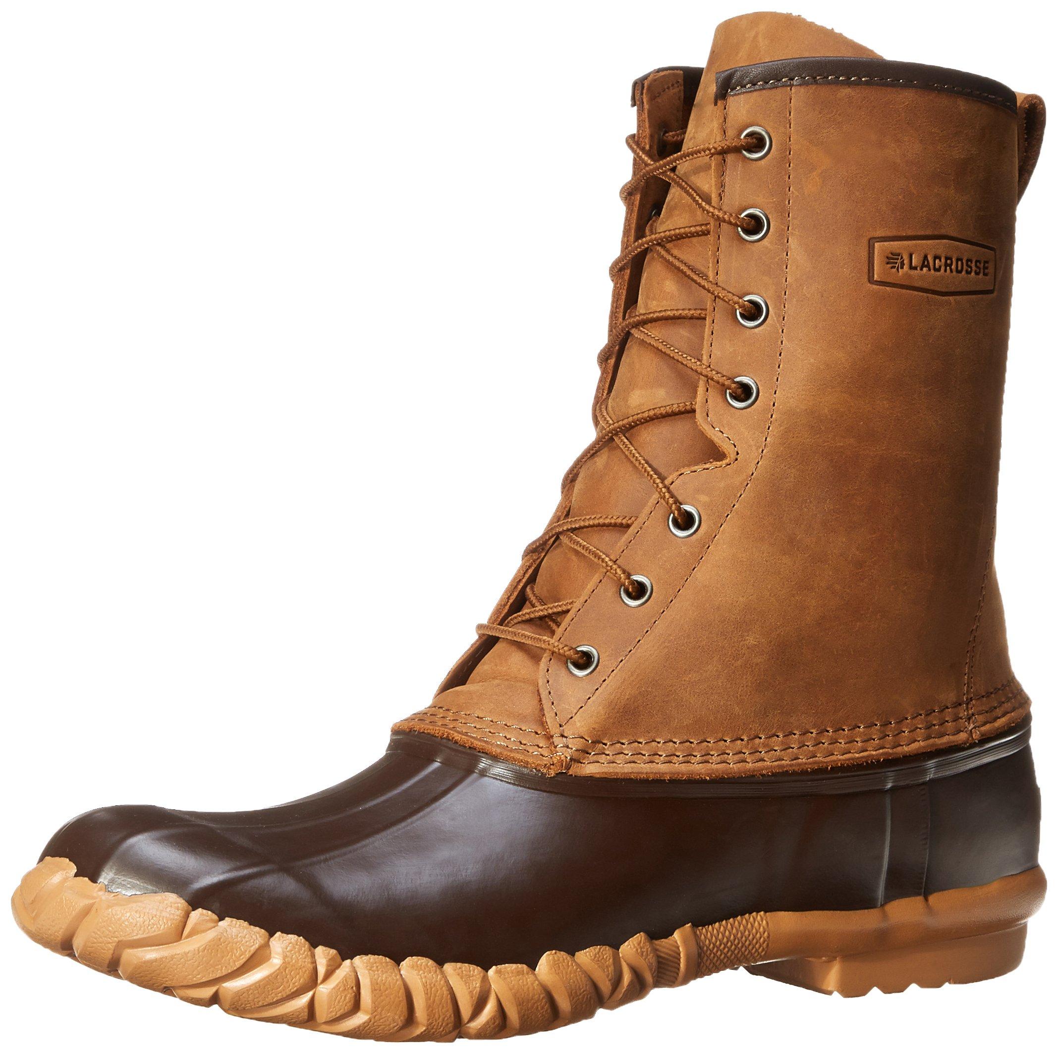 Lacrosse Men's Uplander II 10-Inch Brown Snow Boot,Brown,15 M US