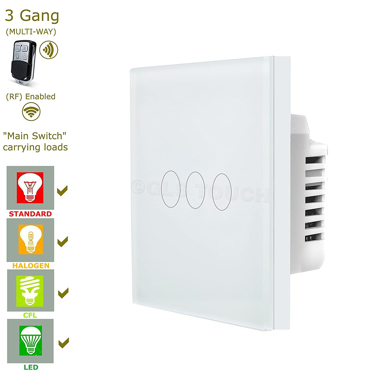 description short product power light control smart wireless switch rf remote wholesale outlet pack