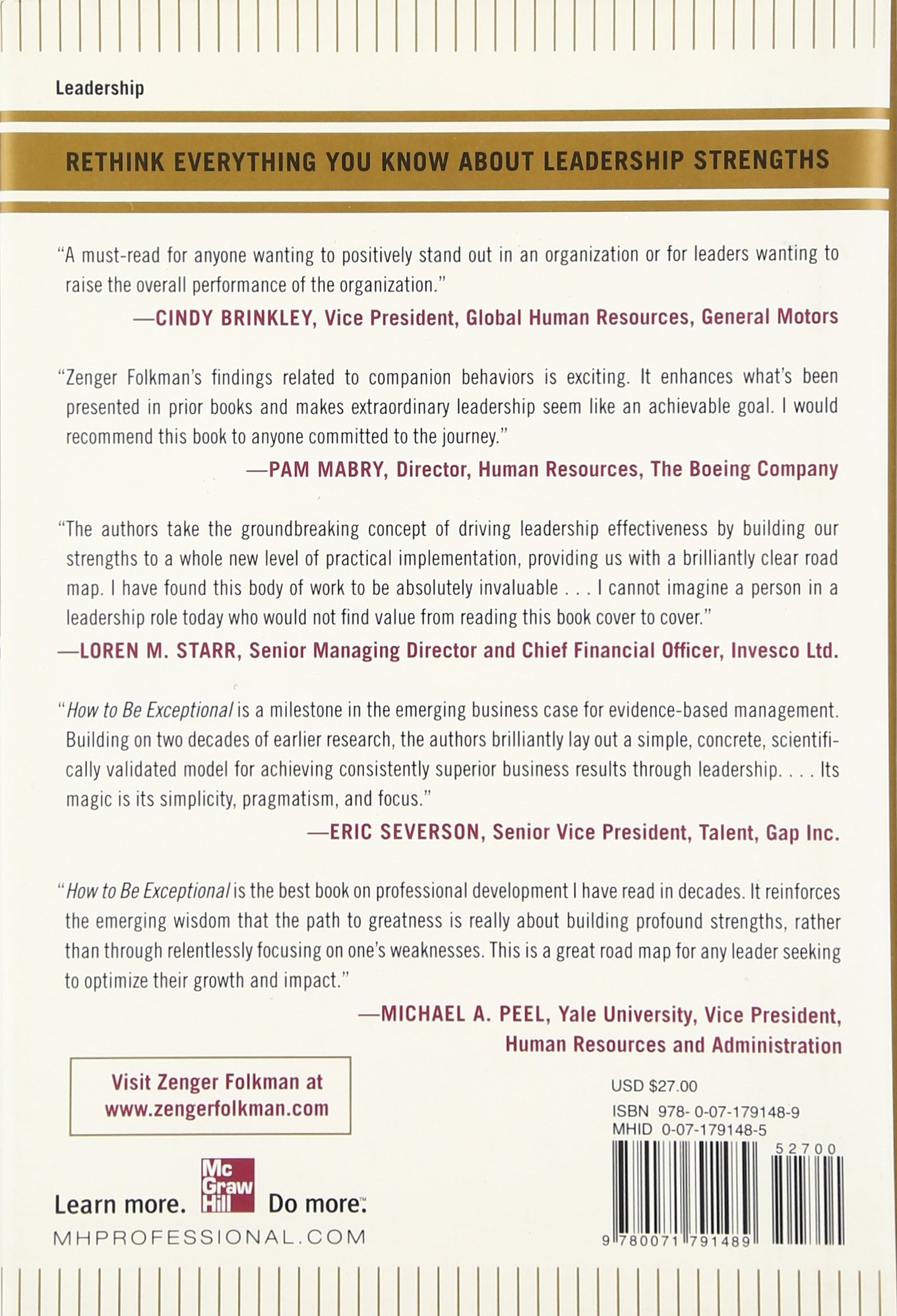 how to be exceptional drive leadership success by magnifying your how to be exceptional drive leadership success by magnifying your strengths management leadership john zenger joseph folkman jr robert h sherwin