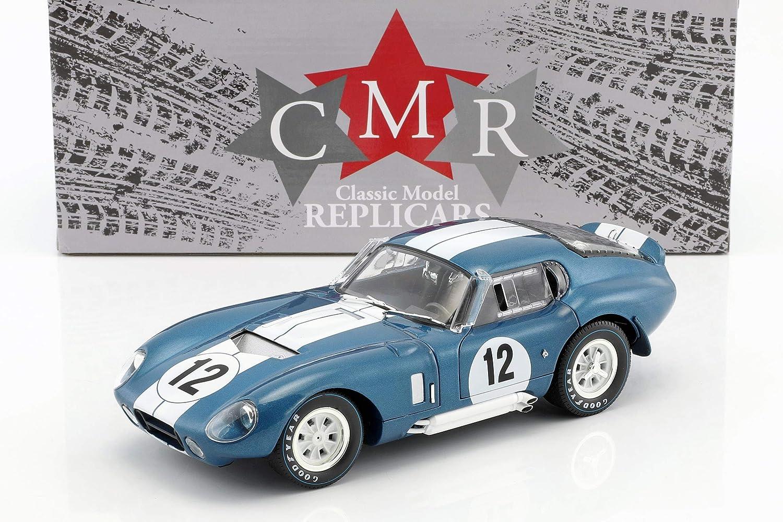 CMR Shelby Cobra Daytona Coupe  12 24h Lemans 1965 Schlesser, Grant 1:18