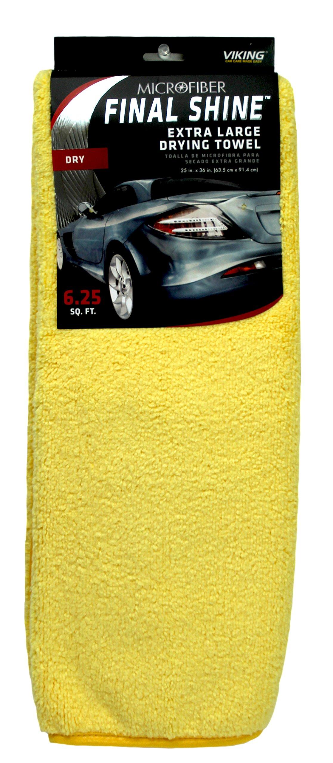 Viking Extra Large Microfiber Drying Towel - 6.25 Square Feet 10