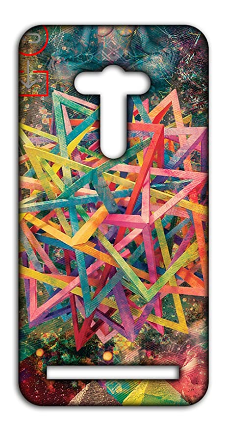 bd1dd53684596 Happoz Star Like 3D Structure Asus Zenfone 2 Laser 5  Amazon.in  Electronics