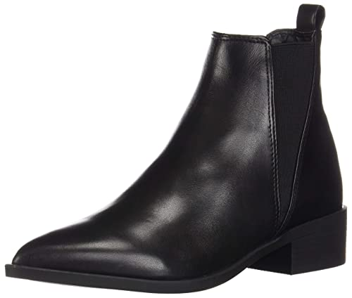 f18db904451 Steve Madden Women's JONND Boot,Black Leather,7.5 M US: Amazon.ca ...