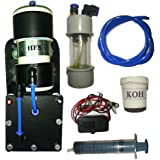 Hybrid Fuel Systems HHO Fuel Kit For Bikes_Black