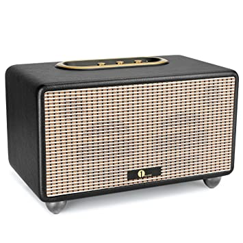 1byone HIFI Stereo-Lautsprecher mit Bluetooth, 3,5-mm Anschluss ...
