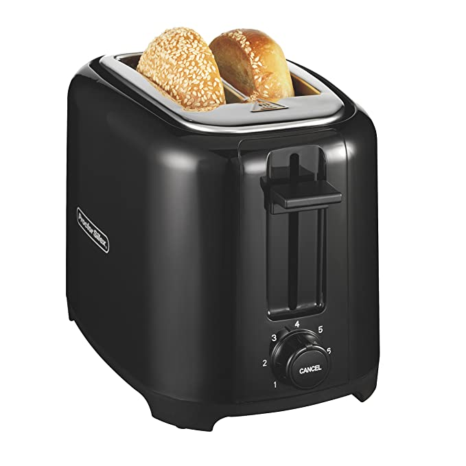 Proctor Silex 22215 Toaster with Wide Slots & Toast Boost, 2-Slice, Black best toasters