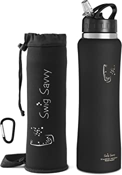 Swig Savvy's Stainless Steel Insulated Water Bottle 24oz