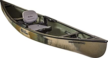 Amazon com : Old Town Discovery 119 Solo Sportsman Canoe
