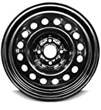 New 15 Inch Saturn Ion 4 Lug Black Replacement Steel Wheel Rim 15x6 Inch 4 Lug 65.1mm Center Bore 40mm Offset 9593549