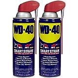 Lubrificante WD-40, lata de canudo inteligente, 340 g - 2 unidades