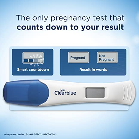 Amazon Com Clearblue Digital Pregnancy Test With Smart Countdown 3