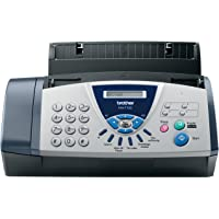 Brother FAX-T102 Thermo Transfer Faxgerät, grau