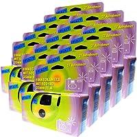 15 x Spirit PHOTO PORST monouso per macchina fotografica/fotocamera di altezza tempo/festa fotocamera (da 27 foto, con flash e batterie)