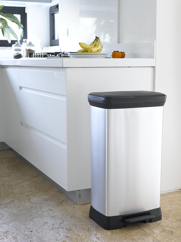 poubelle 50l pas cher poubelle de cuisine pas cher cool. Black Bedroom Furniture Sets. Home Design Ideas