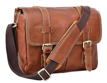72fb7597de24 Image Unavailable. Image not available for. Color  ALTOSY DSLR Camera Bag  Leather Crossbody Bag Shoulder ...