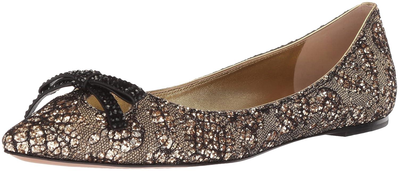 Marc Jacobs Women's Jaime Pointy Toe Ballet Flat B071GS89L1 35 M EU (5 US)|Gold