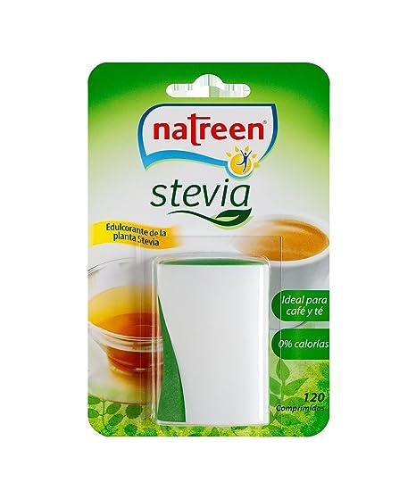 Natreen - Edulcorante Comprimidos Miniwave Dispensador Stevia, 120 uds