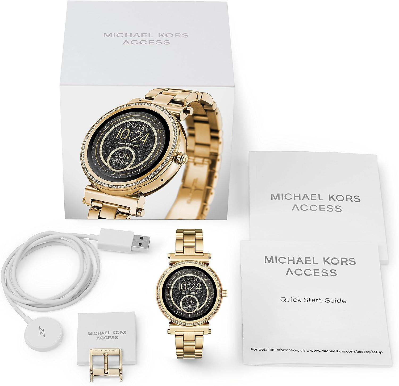Smartwatch Michael Kors de Mujer Sofie MKT5021: Amazon.es: Relojes