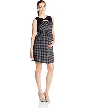 ee7a13de9a7 Maternal America Women s Maternity Bow Shift Dress