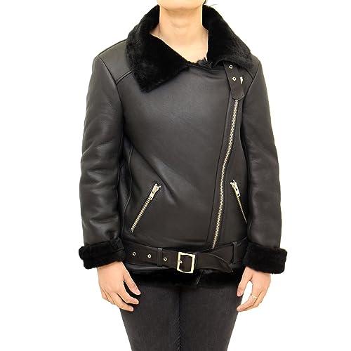A to Z Leather – Abrigo – Clásico – Manga Larga – para mujer