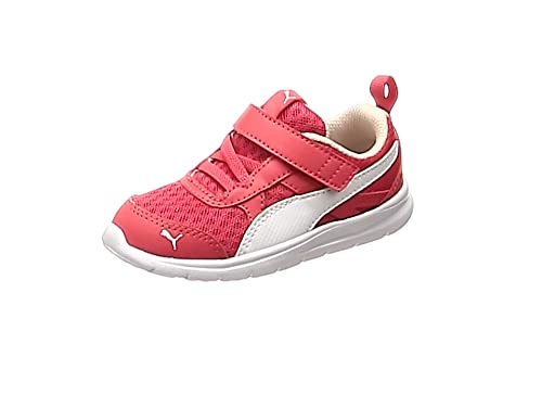 e553503e8a312 Puma Scarpe Baby Sneakers Flex Essential in Tela Rosso 190684-04 ...