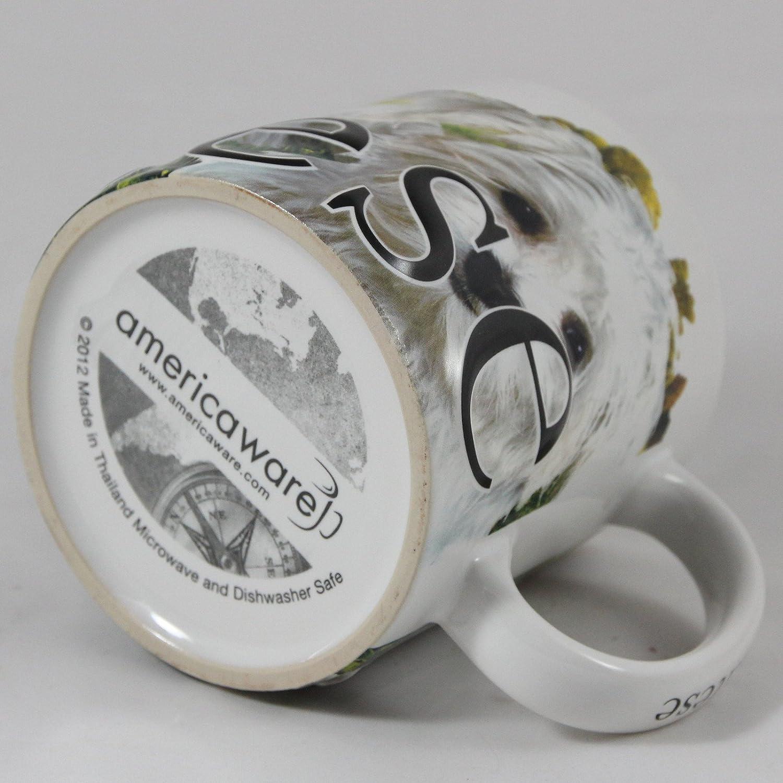 Dachshund My Pet Mug Americaware Best Friend Series 18 oz. Raised Lettering