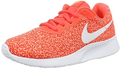 d703387a19 NIKE Girls' WMNS Tanjun Print Trainers, Beige: Amazon.co.uk: Shoes ...