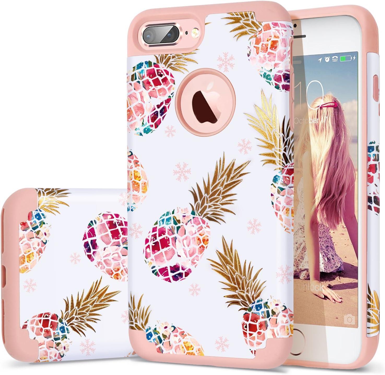 Amazon Com Fingic Iphone 7 Plus Case Iphone 8 Plus Case Pineapple