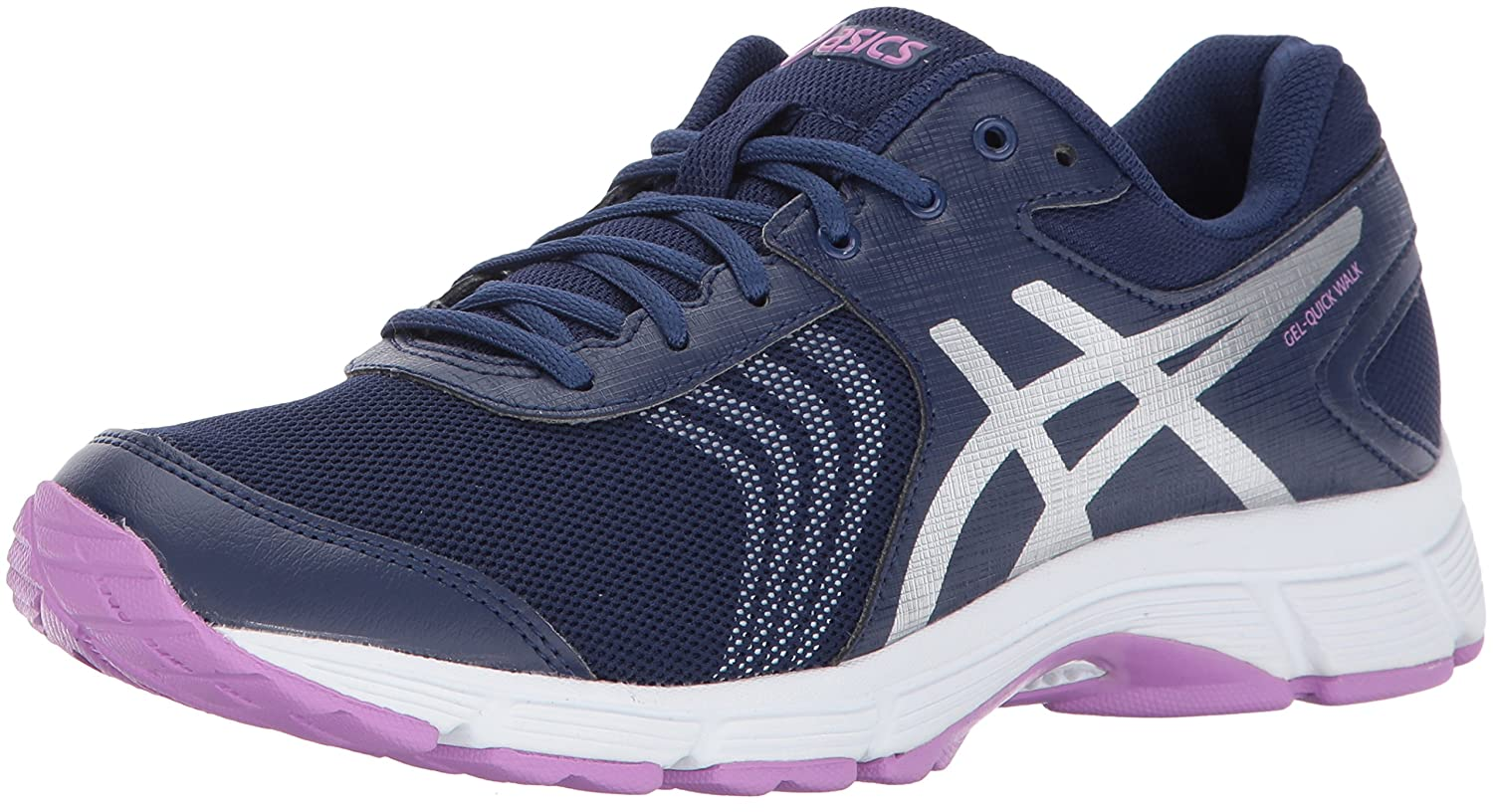 ASICS Women's Gel-Quickwalk 3 Walking Shoe B01N07G7EO 10 B(M) US|Indigo Blue/Silver/Violet