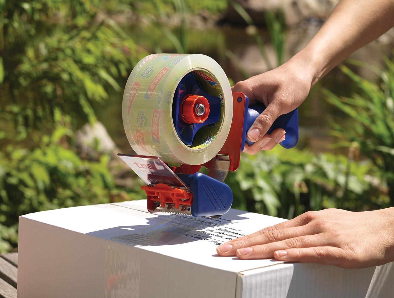 66m:50mm gr/ün bedruckt tesa Packband Eco /& Strong