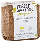 Forest Whole Foods Organic Alfalfa Seeds, 500 g